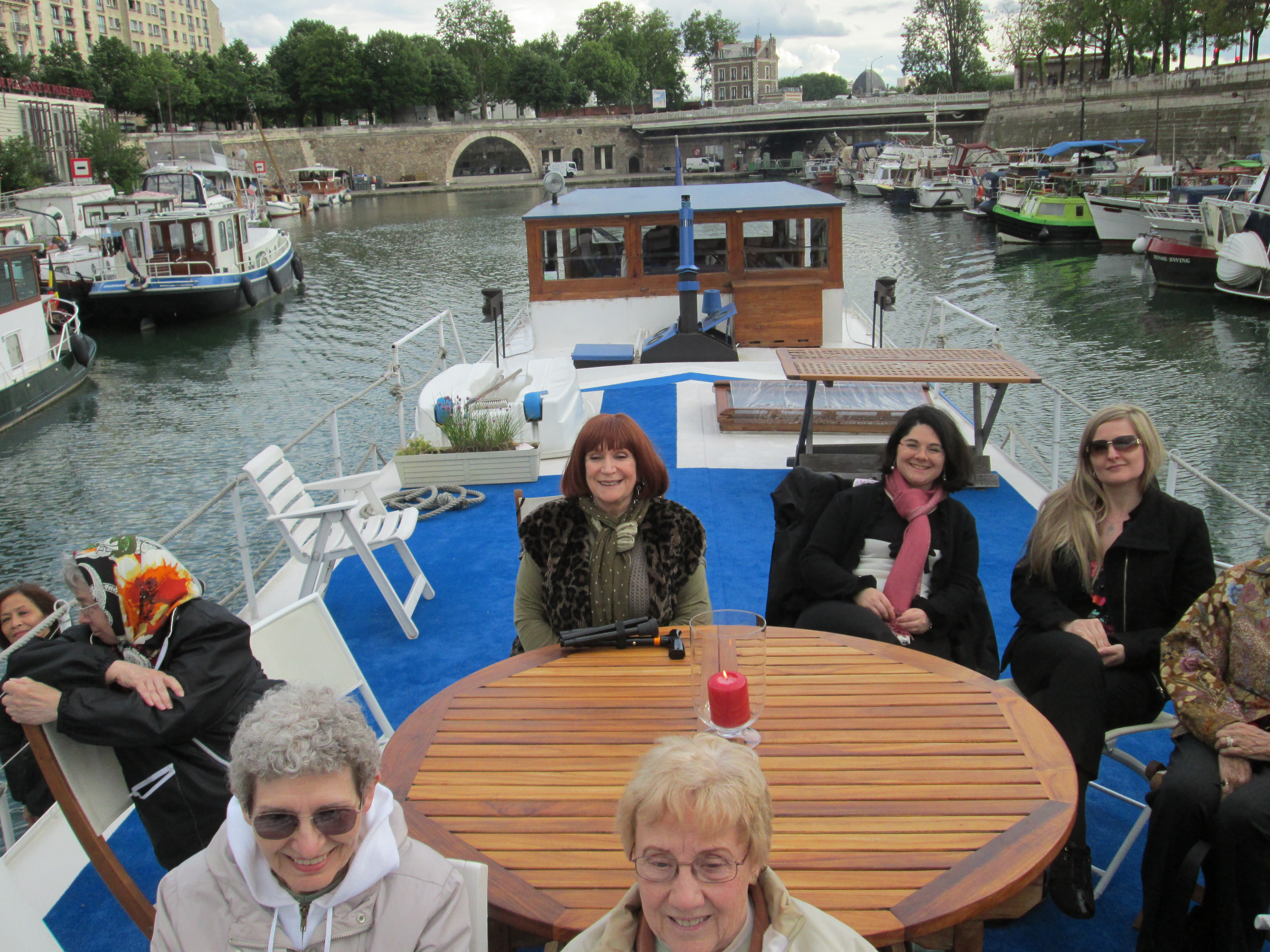 Intourlude group goes on the Canal
