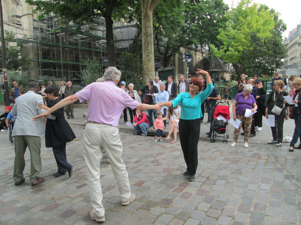 Dancing at the Bal Mouffetard 2015