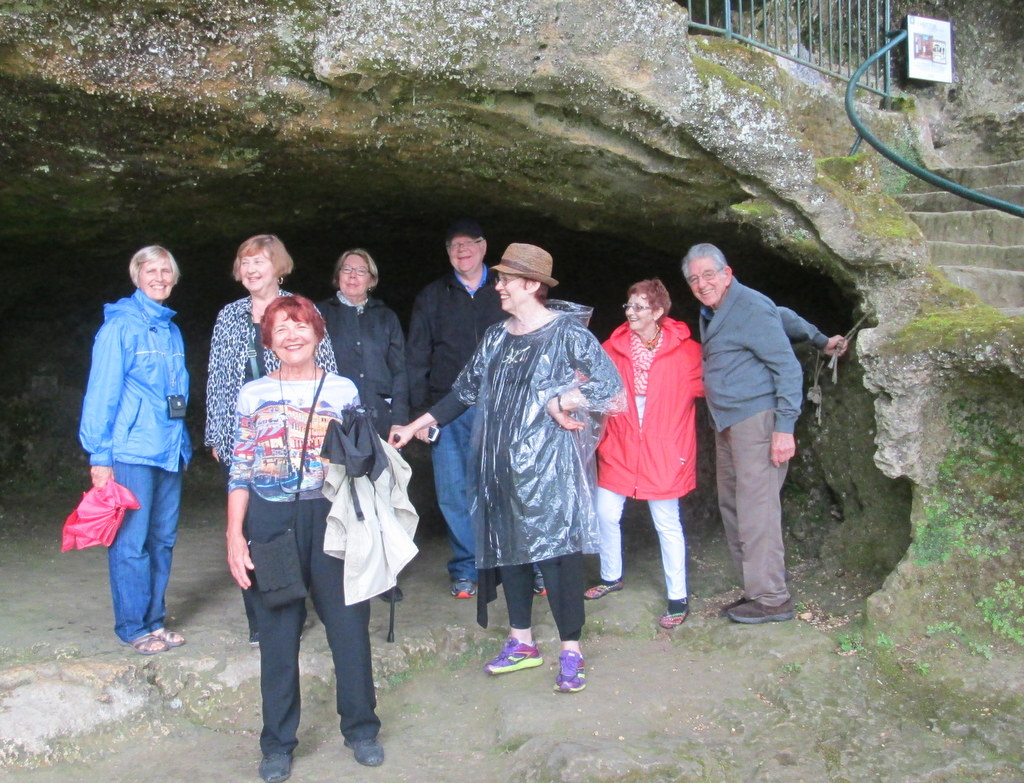 Intourlude group at the Cliff Dwellers Village