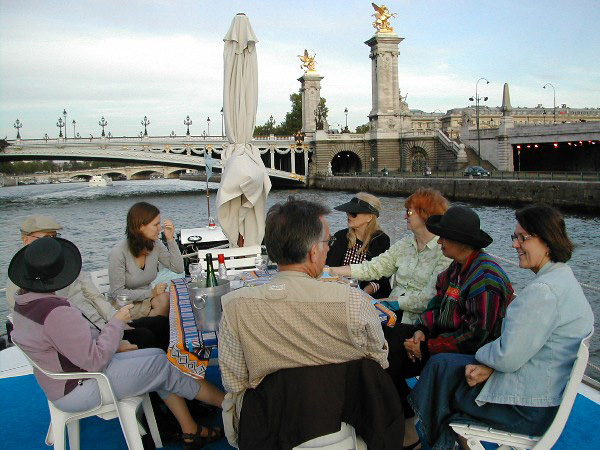 Dining on the Seine