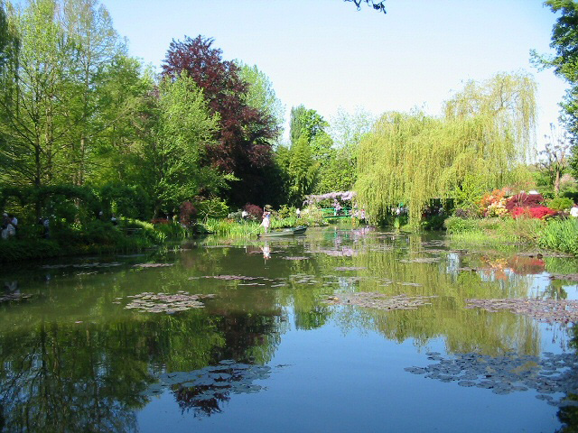 Monet's Lily Pond in May