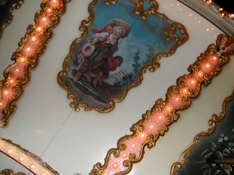 carousel painted ceiling