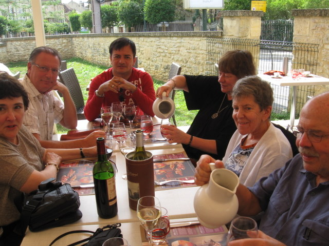 Luncheon in Sarlat